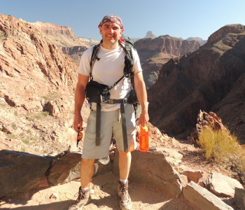Mike In Grand Canyon